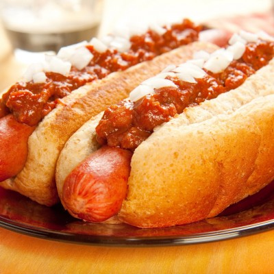 10370285 - perfect for the big game, a picnic, or anytime chili dogs with onions